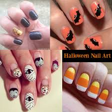 25 suitable halloween nail art designs for halloween