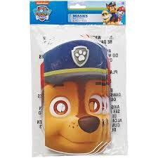 paw patrol masks 8 count party supplies walmart