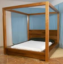 Contemporary Canopy Bed How To Hang A Poster Twin Canopy Bed All Image Of With Curtain