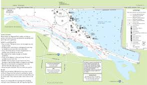 Green Lake Wisconsin Map by Shadow Cliffs Regional Recreation Area