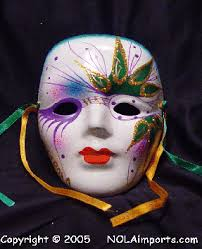 ceramic mardi gras masks large green eyed ceramic mardi gras mask mardi gras masks