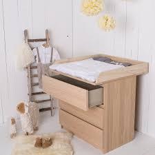 commode chambre bébé ikea table à langer en bois naturel pour commode ikea malm amazon fr