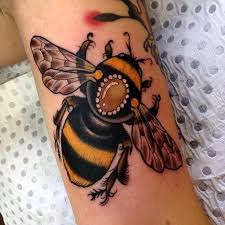 image result for bumblebee tattoos tattoo art pinterest