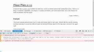 D3 Js Floor Plan Javascript Code From Codepen Io Not Working When Downloaded