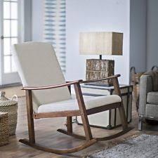 Nursery Room Rocking Chairs Modern Rocking Chair Ebay