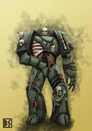 death guard plague marine sketch by bastianst on deviantart