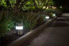 Landscape Bollard Lights Light Column Pathway Outdoor Bollard Lighting Style Bistrodre