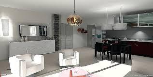 salon avec cuisine ouverte idee amenagement salon salon a manger beautiful coration coration 7