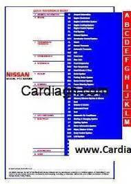 nissan primera model p12 series service repair manual pdf free