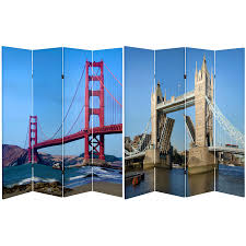 picture room divider 6 ft tall bridges room divider roomdividers com