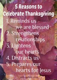 5 reasons to celebrate thanksgiving even if it s been a year