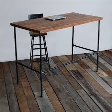 Desk Modern by Solid Wood Table Standing Desk Urban Wood Goods