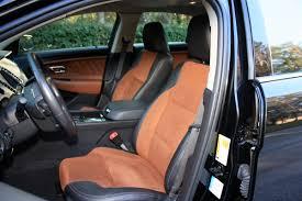 Taurus Sho Interior 2011 Ford Taurus Sho Ridelust Review