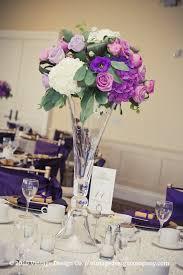 wedding flowers table decorations purple centerpieces flower for wedding table decoration