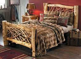 Cedar Log Bedroom Furniture by Bedroom Furniture Collections Wild Wings