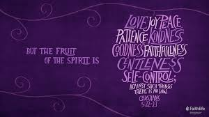 fruit spirit works biblical examples love