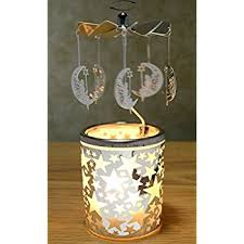 spinning candle staron rotary candle holder