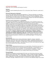 what should a resume cover letter say cover letter personal profile resume examples personal profile cover letter personal profile resume examples personal profile regarding personal resume template
