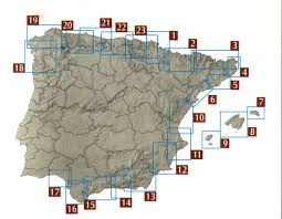 Map Of Malaga Spain by Spanish Walking Maps And Walking Guides Spain To Buy Online From