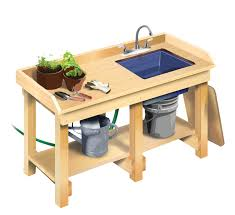 garden work bench diy home outdoor decoration how to build a workbench diy mother earth news build a diy garden workbench