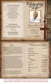paper for funeral programs forever with us funeral memorial program template and program