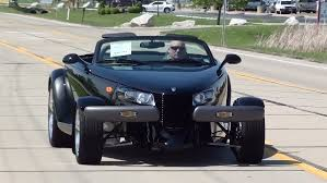 test drive 1999 plymouth prowler and matching trailer youtube