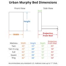 Murphy Bed Atlanta Ga Full Size Bed Mattress Dimensions Mattress