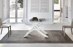 tavoli design cristallo tavolo allungabile artistico di bontempi arredo design