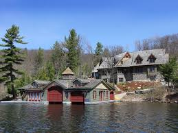 Lake Home Interiors by Rustic Lake House Muskoka Ontario Canada Architecture