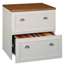 White Lateral File Cabinet Bush Fairview Antique White Lateral File Cabinet Wc53281 03