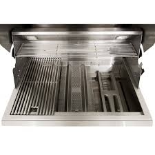 Built In Gas Grills Blaze Professional 34 Inch 3 Burner Built In Gas Grill With Rear