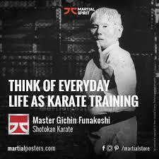 Meme Karate - martial arts meme think of everyday life as karate training