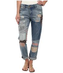 Blank Nyc Patchwork - lyst blank denim multicolor patchwork in patch things up