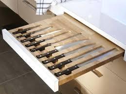 organisateur de tiroir cuisine organisateur tiroir cuisine un rangement pour les couteaux de