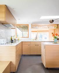 what backsplash goes with light wood cabinets 75 beautiful kitchen with light wood cabinets and glass tile