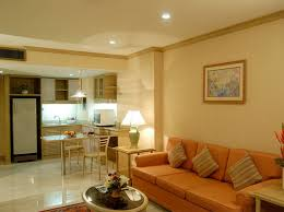 apartment graceful warm brown living room decorating ideas with
