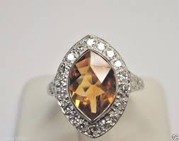 antique engagement rings uk best 25 citrine engagement rings ideas on engagement