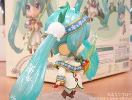 anime hair accessories nendoroid snow miku snow bell ver kahotan s smile
