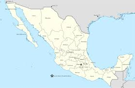 Chihuahua Mexico Map States Of Mexico Map