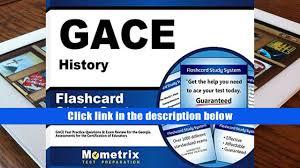 ebook gace history flashcard study system gace test practice