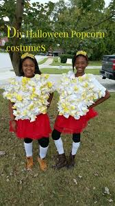 Infant Popcorn Halloween Costume Diy Popcorn Halloween Costume