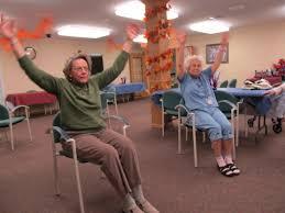 Chair Dancing Rhythm Of Life Senior Dance