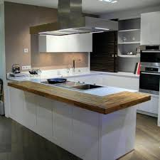 cuisine avec plan de travail en bois plan de travail snack cuisine 4 un dans ma flip design boisflip bois