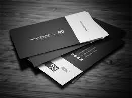 2016 fashion design custom business cards laminated finished