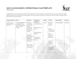 Free Business Plan Template Nz by Operational Plan Template Business Letter Template