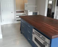 maryland wood countertops projects flat grain walnut island