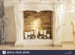 Decorative Fireplace by Fireplace Clock Stock Photos U0026 Fireplace Clock Stock Images Alamy