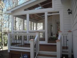 Garage With Screened Porch Best 10 Side Porch Ideas On Pinterest Concrete Front Porch