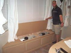 Making A Bay Window Seat - building a window seat with storage in a bay window pretty handy