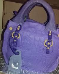 cake purse designer handbag cakes online decorating class craftsy